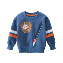 Boys Clothing Sweatshirts Hoodie Long-Sleeve Winter Sports Cotton Fashion Children Cartoon