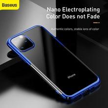 Baseus telefon kılıfı için iPhone X 11 tam koruma Ultra ince sert PC arka kapak kılıf iPhone 11 Pro max durumda
