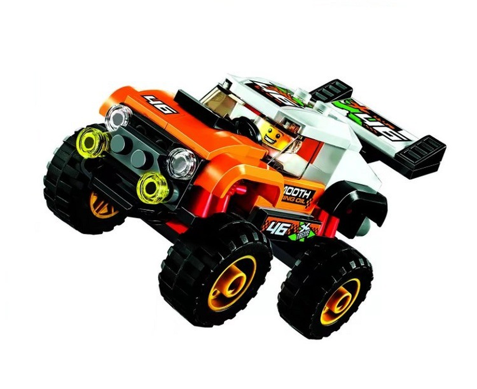 Bela 10645 Urban City Stunt Truck Vehicle Building Blocks Bricks Compatible Legoinglys Toys Gifts Children Model-in Blocks from Toys & Hobbies