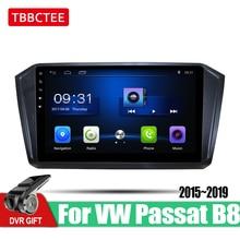 Tbbctee android 車の gps 、マルチメディアプレーヤーフォルクスワーゲン vw パサート B8 2015 〜 2019 メカビデオオーディオ車プレーヤー wifi