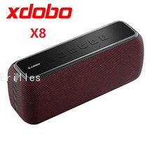 XDOBO X8 60W Portable Bluetooth Speakers Bass Outdoor Wireless Subwoofer IPX5 Waterproof TWS 15h Playing Time with Mic