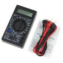 DT-830B Mini Pocket Digital Multimeter 1999 Zählt AC/DC Volt Amp Ohm Diode hFE Tester Amperemeter Voltmeter Ohmmeter