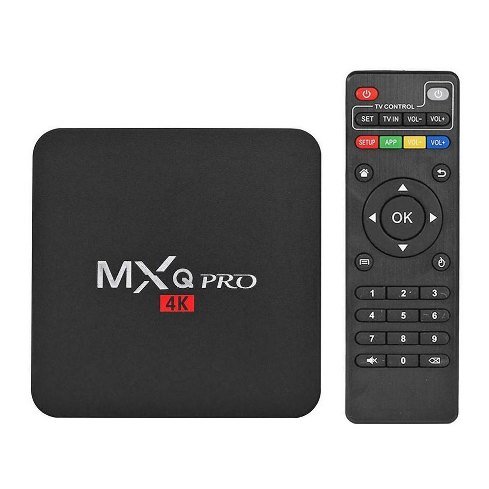 Home 1+8GB HD WiFi HDMI Smart TV Box Set-Top Media Player For Android 7.1 OS