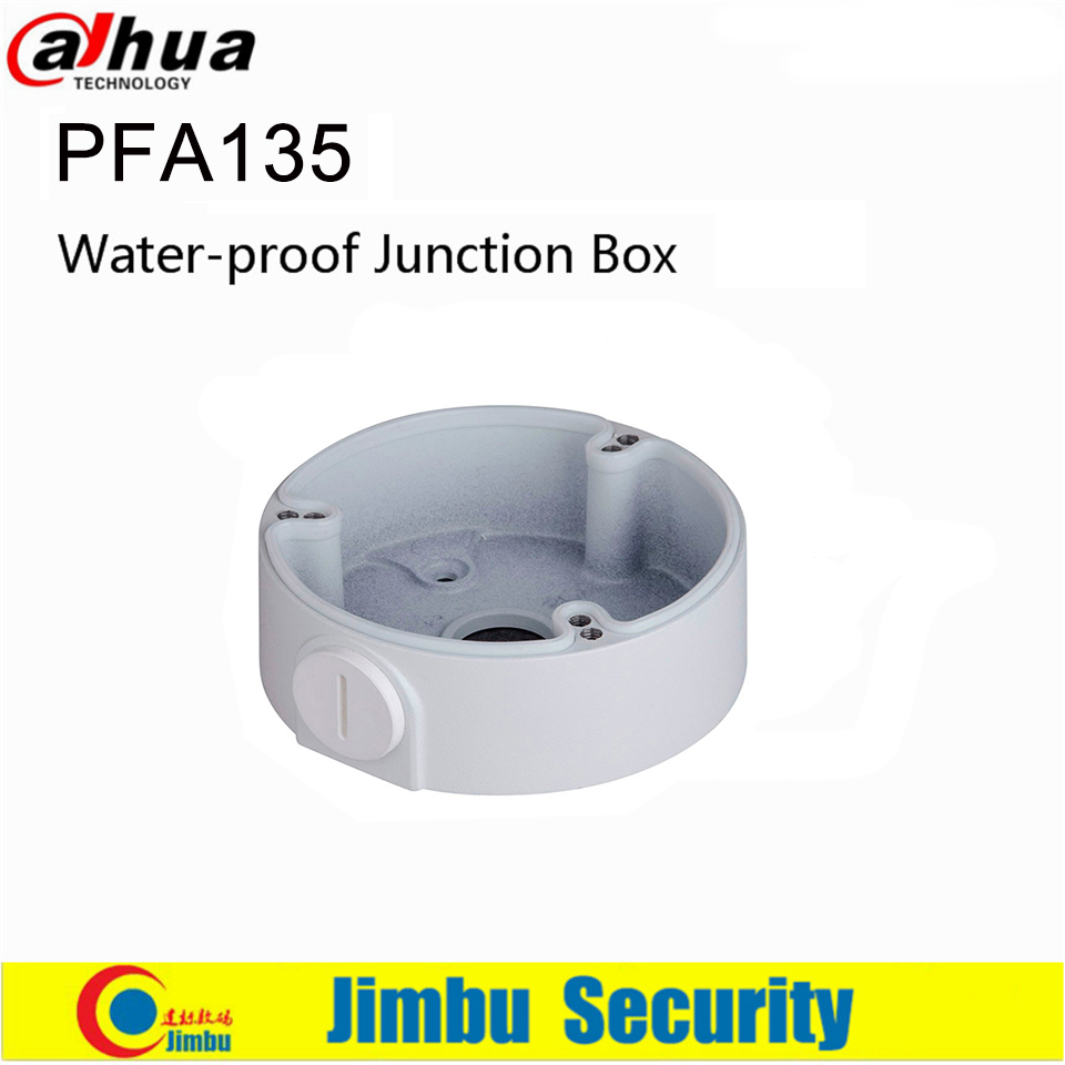 Dahua IP Camera Water-proof Junction Box PFA135 Aluminum Junction Box Neat & Integrated  For Bullet IP Camera