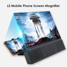 Bracket-Holder Magnifier Stand Screen-Amplifier Xiaomi Cell-Phone Video-Screen Bluetooth
