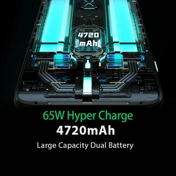 Global Version Black Shark 3  8GB 128GB Snapdragon 865 5G Game Phone Octa Core 64MP Triple AI Cameras 65W Charger JOYUI 11 4
