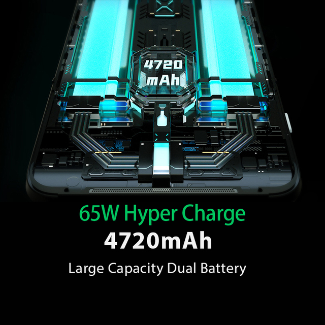 Global Version Black Shark 3  8GB 128GB Snapdragon 865 5G Game Phone Octa Core 64MP Triple AI Cameras 65W Charger 4