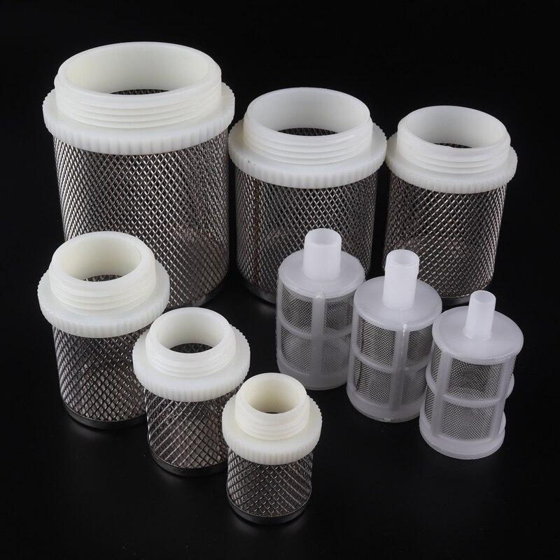 2pcs SS304 Net Filter Garden Micro Irrigation Water Pump Protect Hose Mesh Filter Water Clean Screen Durable Mesh Filters
