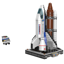 XINGBAO NEW 16004 Space Exploration Series 685PCS The Shuttle Launch Center Building Blocks Rocket Spaceship Bricks Jugetes