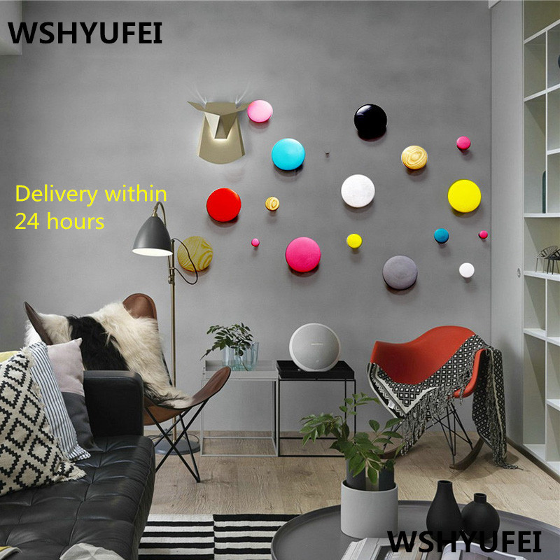 Promotion Home Decoration Coat Hook/Robe Hook Japan Style Wall Hangers For Keys/clothes DIY Wood Handbag Holder Wooden Hangers