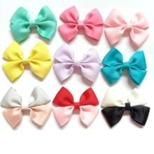 цена на 1PC ribbon bows girls hairpins hair Accessories kids hair clips hair bows children headwear pin dress Accessories ties hair clip