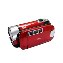 Vlog Camera Recorder Video Camera Camcorder 16X Digital Zoom LCD Flip Screen L41E