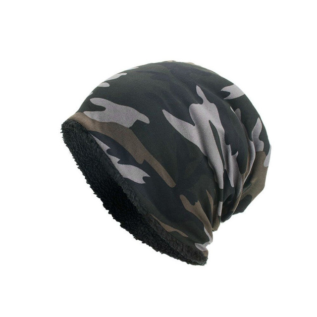Camouflage Winter Beanie 10