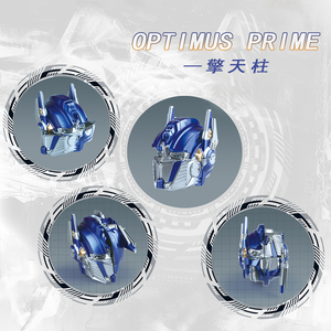 Image 3 - Qiyi High quality 12x15x20cm Bumblebee Optimus Prime Transformation Robot Head 2x2 Cube puzzle