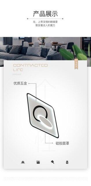 Новинка 2020 потолочный светильник для спальни теплый индивидуальный