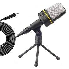 Конденсаторный микрофон для звукозаписи студия со штативом разъем