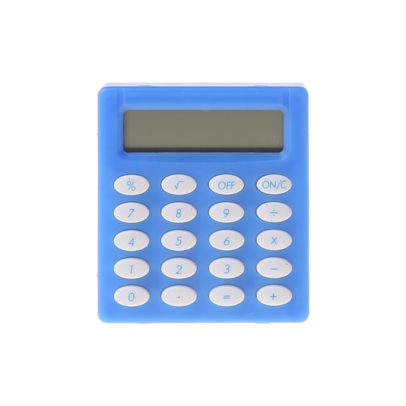 Mini Portable Electronic Calculator Candy Color Calculator Students School Use