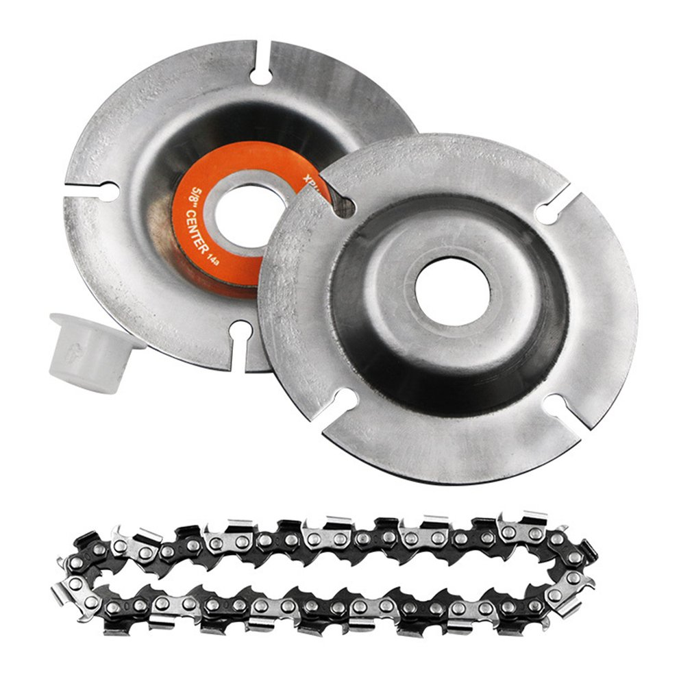 4Inch/5 Inch Angle Grinders Chain Saws Disc Chainsaw Wheel Woodworking Wood Grinding Carving Cutting Tools