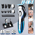 Kemei Беспроводная Машинка для стрижки волос для мужчин триммер для бороды Электрический тример бритва триммер для носа машинка для стрижки в...