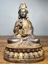 """8 """"Тибетский буддистский храм Старый Бронзовый лак cinnabars"""