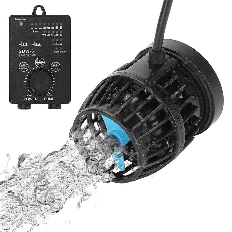 12W 23W 35W pompa falowa DW/SDW seria WiFi cicha pompa obiegowa pompa surfingowa 5000L/H 9000L/H 16000L/H pompa prądowa 110-240V