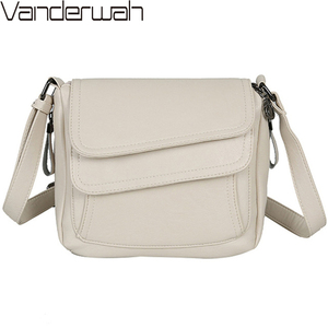 Image 2 - Hot Winter Style Bag Leather Luxury Handbags Women Bags Designer Women Shoulder Messenger Bags For Women 2020 Sac A Main Femme