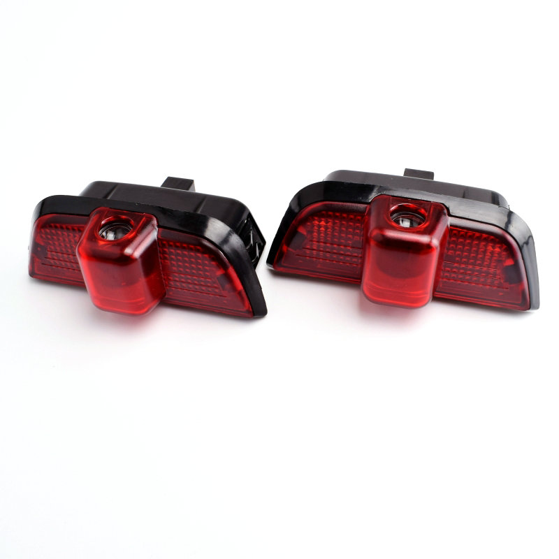 2pcs Car Door Warning Light Logo Projector LED For <font><b>Mercedes</b></font> <font><b>Benz</b></font> <font><b>W204</b></font> C Class C180 <font><b>C200</b></font> C350 C300 2010 2011 2012 2013 2014 2015 image