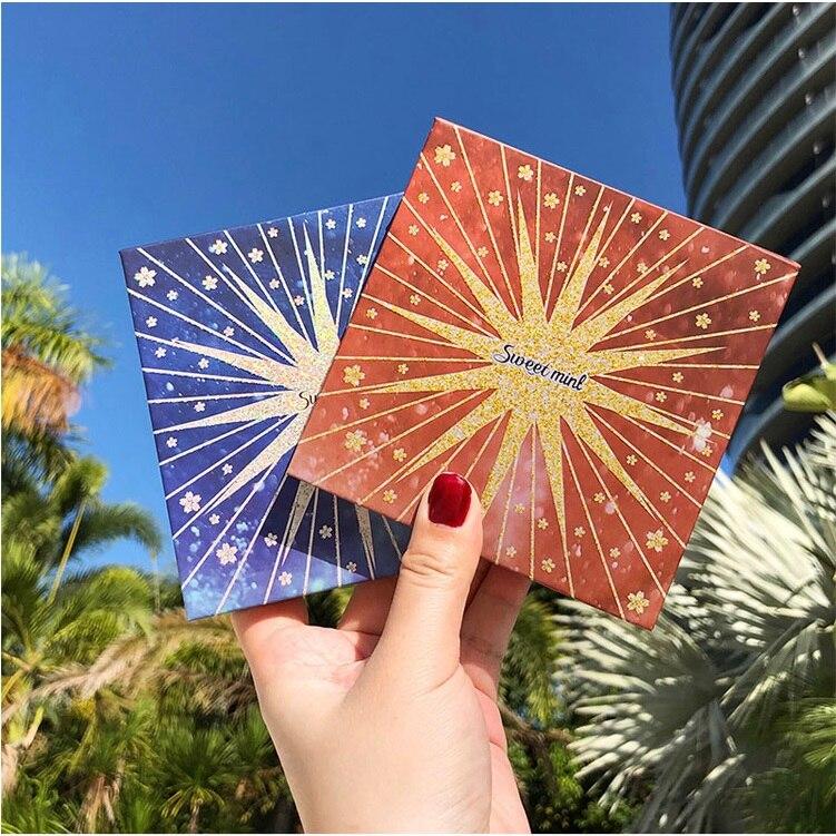 Кремовые тени для век ПАЛИТРА 16 цветов мерцающие матовые блестящие