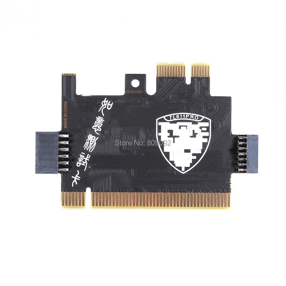 Mini PCI-E PC PCI Analyzer Diagnostic Tester Debug Post Card For Laptop//Desktop