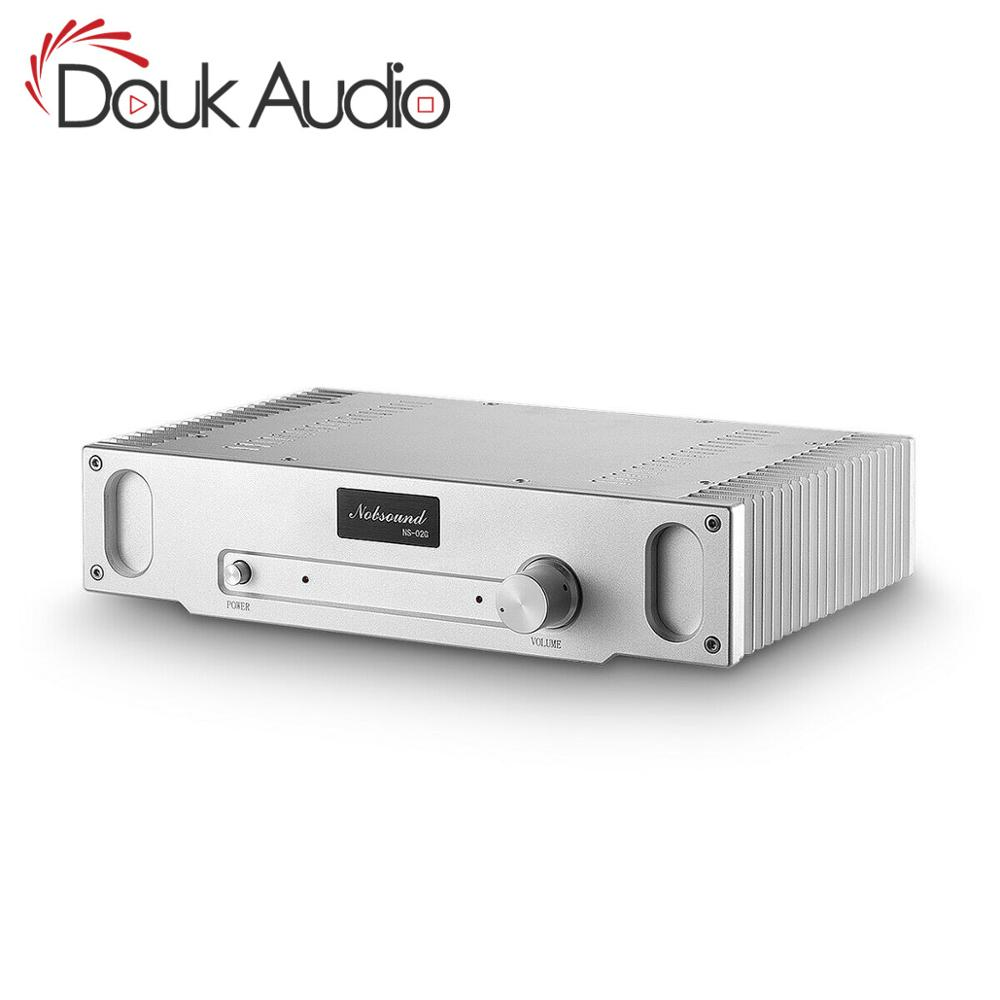 Douk audio HiFi Pure Class A Endstufe Home Stereo Audio Single-ended Amp 15W * 2 Beziehen hood1969 Schaltung