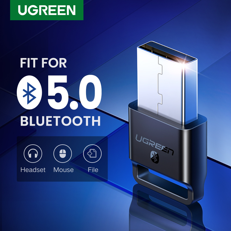 Ugreen Bluetooth Adapter 4.0 Dongle Bluetooth Receiver For Computer PC Laptop Speaker Mouse Music Mini Audio Transmitter aptx