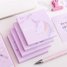 Stickers Post-It-Notes Memo-Pad Scrapbook Unicorn Stationary School-Supplies Work Plan