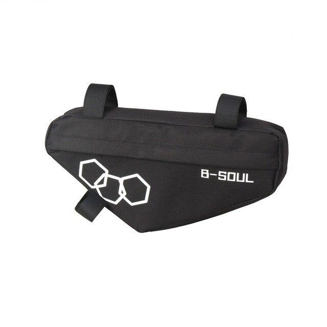 водонепроницаемая велосипедная треугольная сумка передняя рама фотография