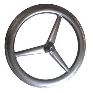 Image 4 - تري تكلم 406 عجلات الكربون 3 تكلم 20 بوصة قابلة للطي دراجة عجلات الكربون et الفاصلة عجلات مكبح قرصي الخامس الفرامل