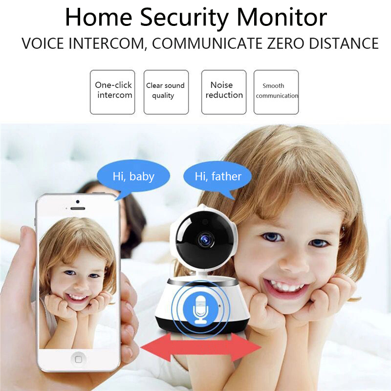 Baby Monitor Portable WiFi IP Camera 600TVL Wireless Baby Camera Surveillance Home Security Camera Smart Phone Video Record image