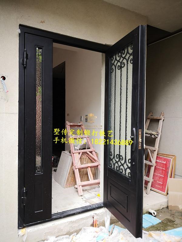 Shanghai Hench Brand China Factory 100% Custom Made Sale Australia Double Iron Front Doors