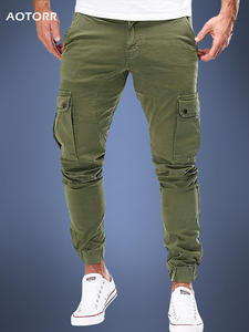 Skinny Pants Sportswear Joggers Long-Trousers Men Cargo Army Trendy Casual Autumn