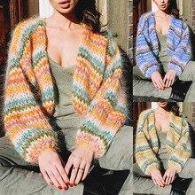 Cardigan women in the autumn of 2019, pure women's sweater, stitching, long cardigan, casual cardigan mujer coat