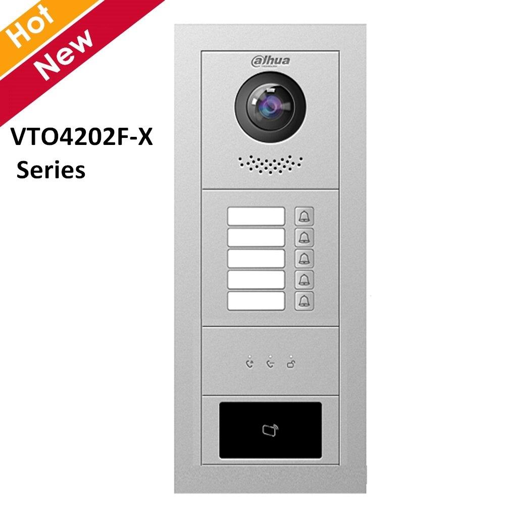 Dahua VTO4202F-X Series Modular Outdoor Station Voice And Video 2 MP Definition Fisheye Camera 160° View Range Access Control