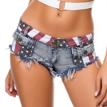 1pcs Women's Sexy super denim shorts 2019 Summer d
