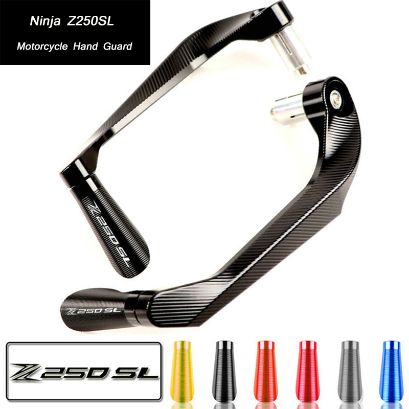 Lever-Protector Z250SL Hand-Guard-System Motorcycle-Brake-Clutch Ninja Kawasaki for Non-Destructive-Installation