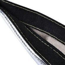 Авто металлический теплозащитный рукав покрытие ткацкий станок отделка декорации трубки полосы изолированные фитинги интерьерные аксессуары обёрточная бумага