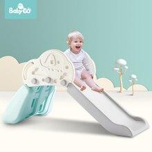 BabyGo детская горка Крытый открытый задний двор игрушка для мальчиков и девочек складная детская игровая горка безопасный дизайн парк развлечений