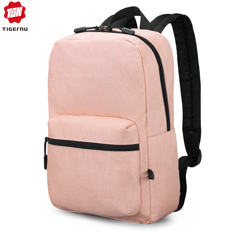 Tigernu New Arrival Women Pink High Quality School Backpacks Bags Soft Light For Girls Travel Mochilas Female Casual Lovely Bags