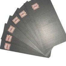 Placa de grafite 5 peças, folha de painel de grafite de alto carbono puro placa de anodo conjunto de kit para edm eletrodo eletrose placa de placa