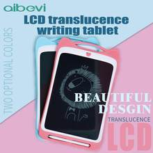 Aibevi LCD Writing Tablet 12 inch Transparent Drawing Tablet Electronic Handwriting Pads Portable Digital Painting Copy Board