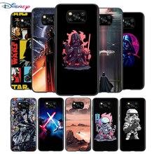 Disney Star Wars For Xiaomi POCO F3 F2 F1 M3 M2 C3 X3 X2 NFC Pro Play Mix 3 A3 A2 A1 6 5 CC9 lite Soft Phone Case