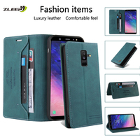 Custodia in pelle per Samsung Galaxy A70 A50 A30 A40 A20 A10 S A8 A7 A6 A5 J6 J8 2018 J7 J5 J3 2017 M31 M21 M11 M20 M62 Cover per telefono