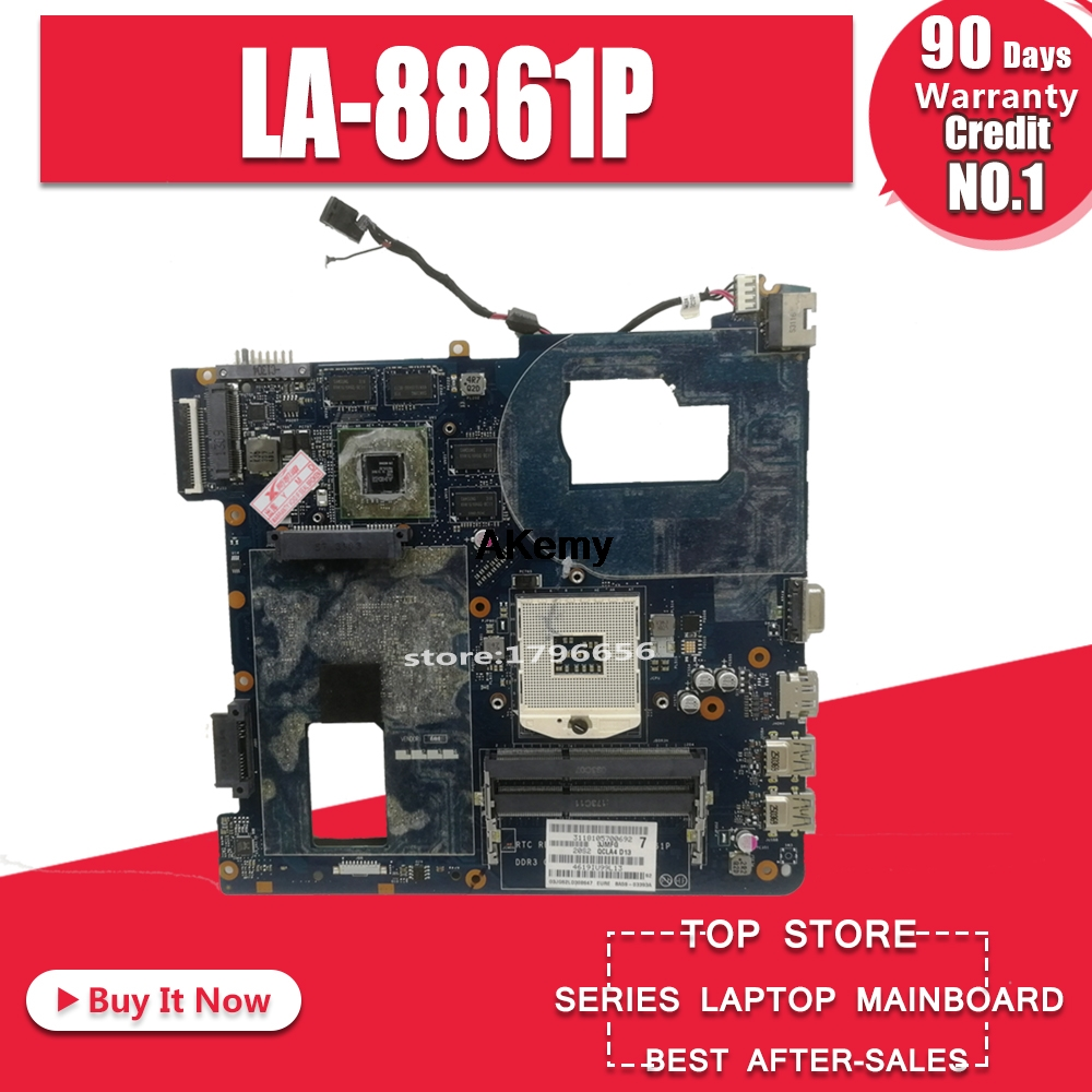 LA-8861P BA59-03541A BA59-03397A Laptop Motherboard For Samsung NP350 NP350V5C 350V5X QCLA4 HM76 DDR3 HD7600M