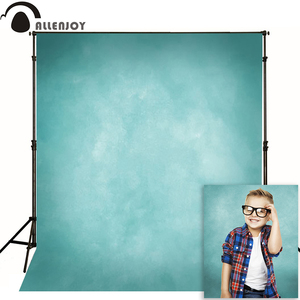 Allenjoy тонкий виниловый тканевый фон для фотосъемки голубой чистый цвет фон для студийной фотосессии MH-073